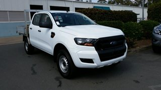 Used Ford Ranger XL Double Cab 4x2 Hi-Rider, Acacia Ridge, 2016 Ford Ranger XL Double Cab 4x2 Hi-Rider PX MkII Cab Chassis