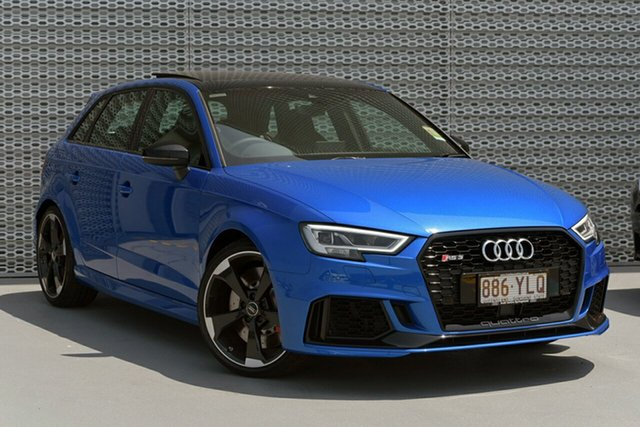 Demonstrator, Demo, Near New Audi RS3, Southport, 2018 Audi RS3 Hatchback