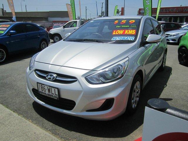 Used Hyundai Accent, Capalaba, 2015 Hyundai Accent Hatchback