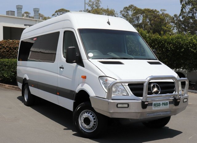 Used Mercedes-Benz Sprinter 519 CDI LWB (4x4), Acacia Ridge, 2011 Mercedes-Benz Sprinter 519 CDI LWB (4x4) 906 MY11 Van