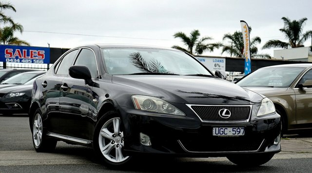 Used Lexus IS250 Prestige, Cheltenham, 2006 Lexus IS250 Prestige Sedan
