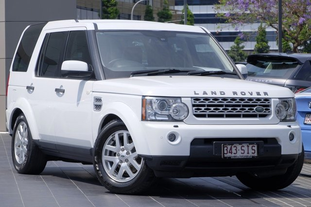 Used Land Rover Discovery 4 TdV6 CommandShift, Newstead, 2012 Land Rover Discovery 4 TdV6 CommandShift Wagon