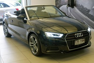 2018 Audi A3 S tronic Cabriolet.