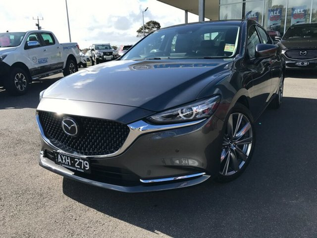 Demonstrator, Demo, Near New Mazda 6 GT SKYACTIV-Drive, Warrnambool East, 2018 Mazda 6 GT SKYACTIV-Drive Sedan