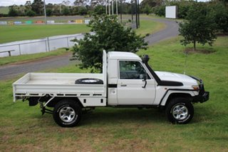 2011 Toyota Landcruiser GX Cab Chassis.