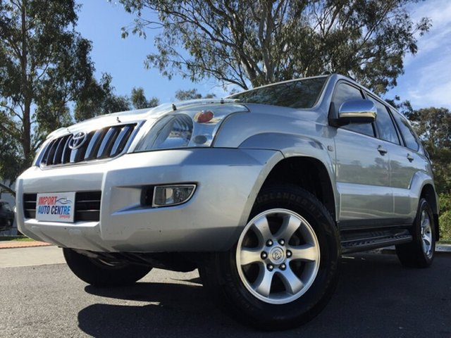 Used Toyota Landcruiser Prado, Kingston, 2004 Toyota Landcruiser Prado Wagon
