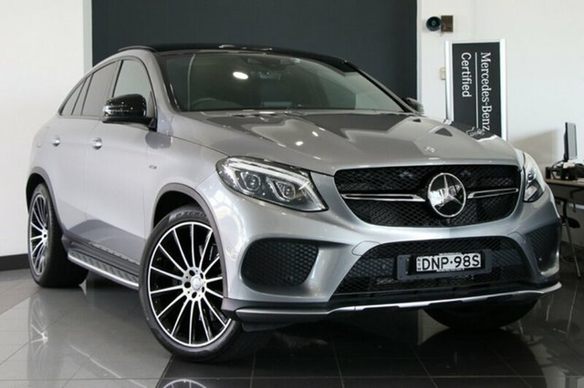 Used Mercedes-Benz GLE450 AMG Coupe 9G-Tronic 4MATIC, Warwick Farm, 2016 Mercedes-Benz GLE450 AMG Coupe 9G-Tronic 4MATIC Wagon