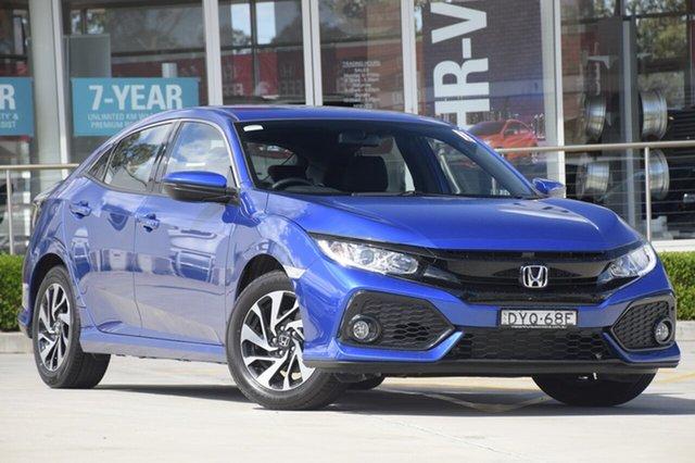 Discounted Demonstrator, Demo, Near New Honda Civic VTi-S, Southport, 2018 Honda Civic VTi-S Hatchback