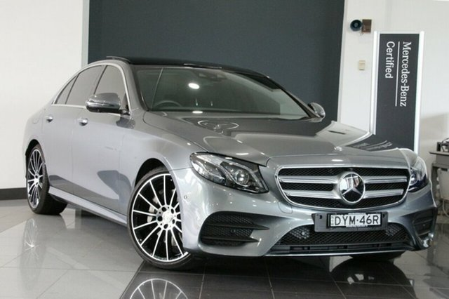 Used Mercedes-Benz E350 d 9G-TRONIC PLUS, Warwick Farm, 2016 Mercedes-Benz E350 d 9G-TRONIC PLUS Sedan