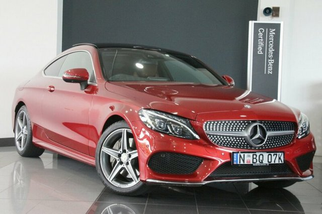 Used Mercedes-Benz C200 7G-Tronic +, Southport, 2016 Mercedes-Benz C200 7G-Tronic + Coupe