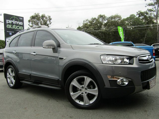 Used Holden Captiva 7 LX (4x4), Underwood, 2013 Holden Captiva 7 LX (4x4) Wagon