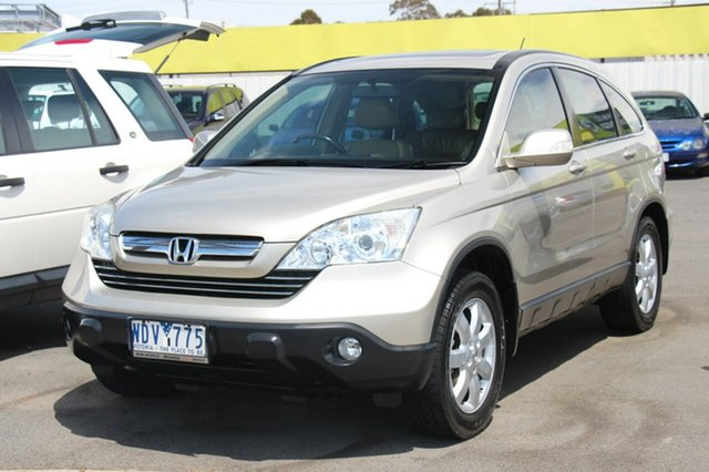 Used Honda CR-V Luxury 4WD, Cheltenham, 2007 Honda CR-V Luxury 4WD Wagon