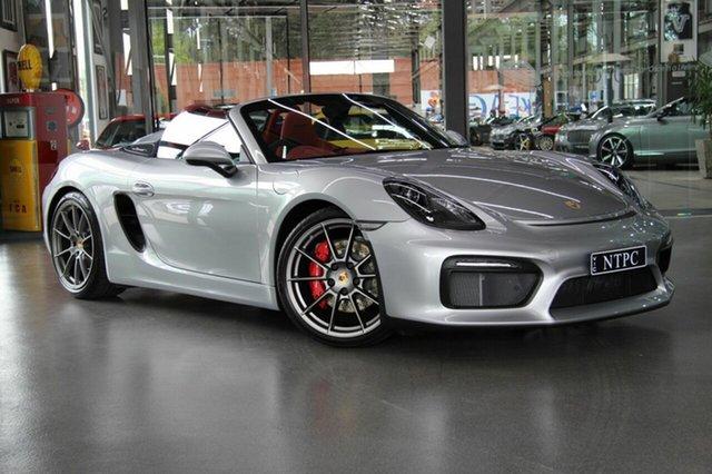 Used Porsche Boxster Spyder, North Melbourne, 2016 Porsche Boxster Spyder Convertible