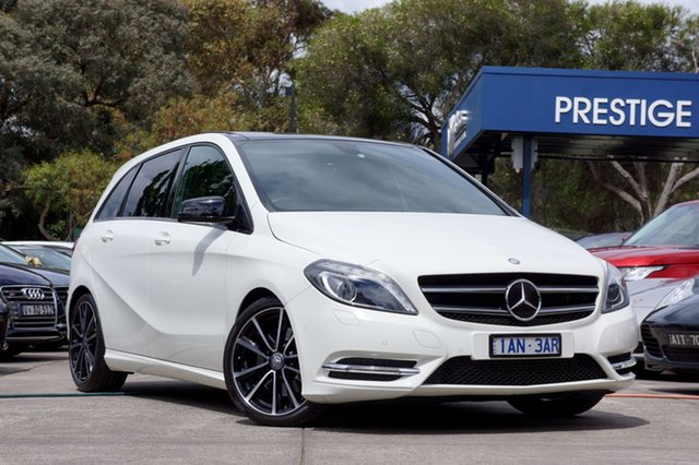 Used Mercedes-Benz B250 BlueEFFICIENCY DCT, Balwyn, 2013 Mercedes-Benz B250 BlueEFFICIENCY DCT Hatchback