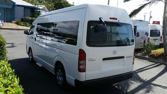 Used Toyota Hiace Commuter High Roof Super LWB, Acacia Ridge, 2011 Toyota Hiace Commuter High Roof Super LWB KDH223R MY11 Bus