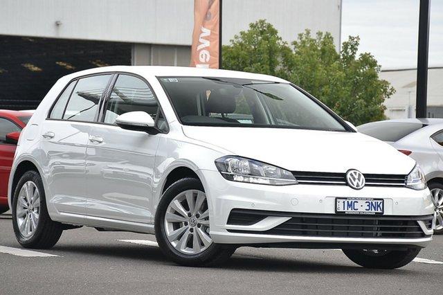 Demonstrator, Demo, Near New Volkswagen Golf 110TSI Trendline, Clayton, 2018 Volkswagen Golf 110TSI Trendline Hatchback