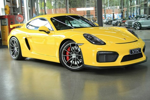 Used Porsche Cayman GT4, North Melbourne, 2016 Porsche Cayman GT4 Coupe