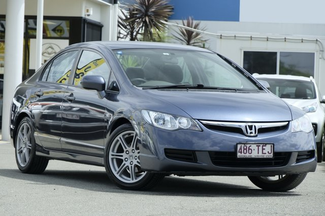 Used Honda Civic VTi, Bowen Hills, 2008 Honda Civic VTi Sedan