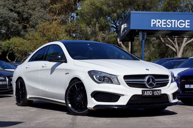 Used Mercedes-Benz CLA45 AMG SPEEDSHIFT DCT 4MATIC, Balwyn, 2014 Mercedes-Benz CLA45 AMG SPEEDSHIFT DCT 4MATIC Coupe