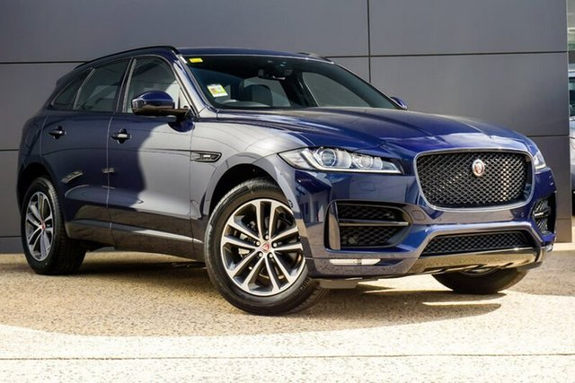 Demonstrator, Demo, Near New Jaguar F-PACE R-Sport, Geelong, 2017 Jaguar F-PACE R-Sport Wagon