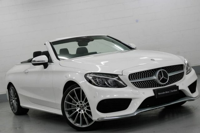Used Mercedes-Benz C300 9G-TRONIC, Southport, 2017 Mercedes-Benz C300 9G-TRONIC Cabriolet