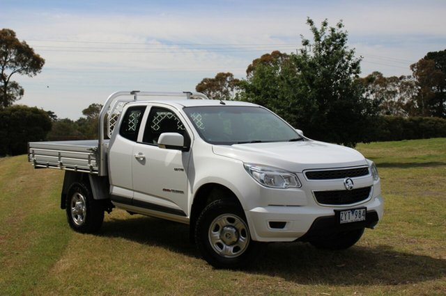 Used Holden Colorado LX Space Cab, Officer, 2013 Holden Colorado LX Space Cab Cab Chassis