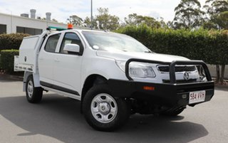 Used Holden Colorado LS Crew Cab, Acacia Ridge, 2015 Holden Colorado LS Crew Cab RG MY15 Cab Chassis
