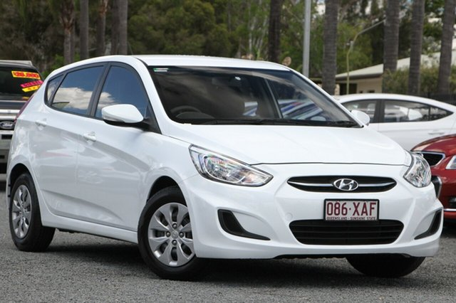 Used Hyundai Accent Active, Beaudesert, 2016 Hyundai Accent Active Hatchback