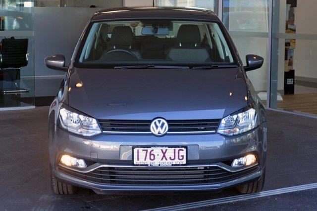 Used Volkswagen Polo 81TSI DSG Comfortline, Southport, 2017 Volkswagen Polo 81TSI DSG Comfortline Hatchback