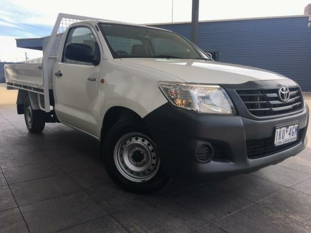 Used Toyota Hilux Workmate, Wangaratta, 2012 Toyota Hilux Workmate Cab Chassis
