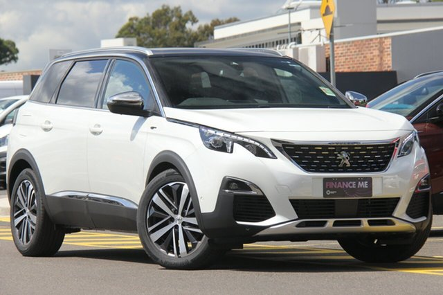Discounted Demonstrator, Demo, Near New Peugeot 5008 GT, Narellan, 2018 Peugeot 5008 GT SUV