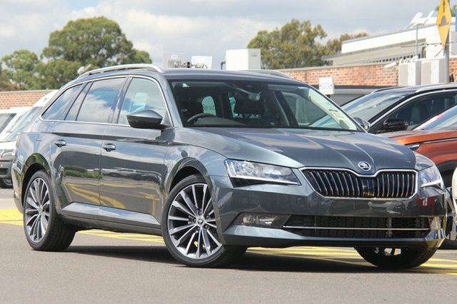 Discounted Demonstrator, Demo, Near New Skoda Superb 162TSI DSG, Warwick Farm, 2018 Skoda Superb 162TSI DSG Wagon