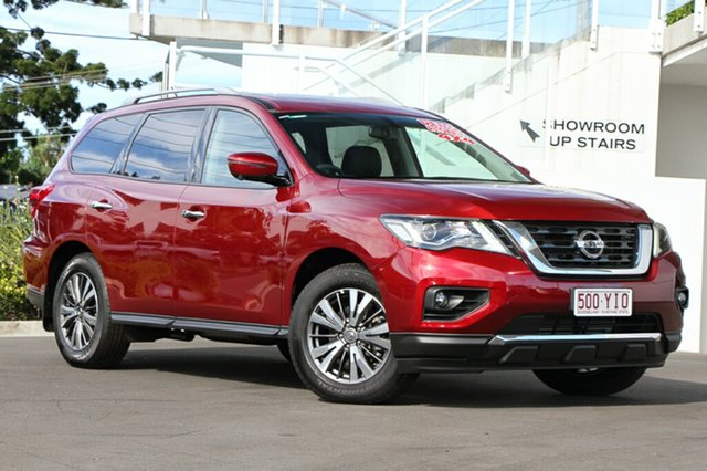 Demonstrator, Demo, Near New Nissan Pathfinder ST-L X-tronic 4WD, Indooroopilly, 2017 Nissan Pathfinder ST-L X-tronic 4WD Wagon