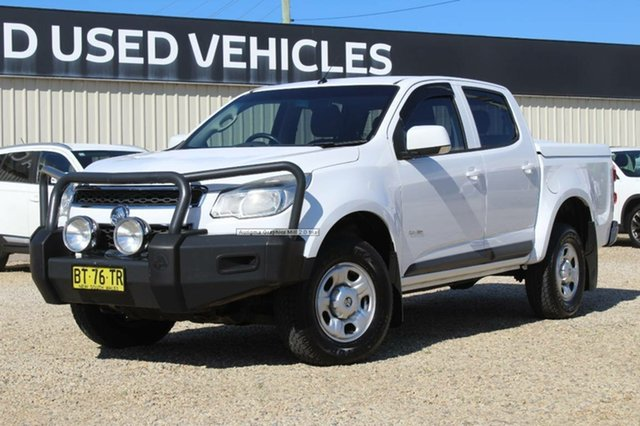 Used Holden Colorado LX (4x4), Bathurst, 2013 Holden Colorado LX (4x4) Crew Cab Pickup