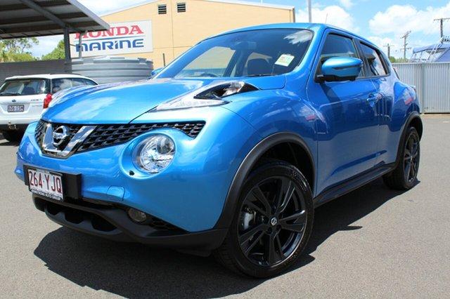 Demonstrator, Demo, Near New Nissan Juke Ti-S X-tronic AWD, Toowoomba, 2018 Nissan Juke Ti-S X-tronic AWD Hatchback