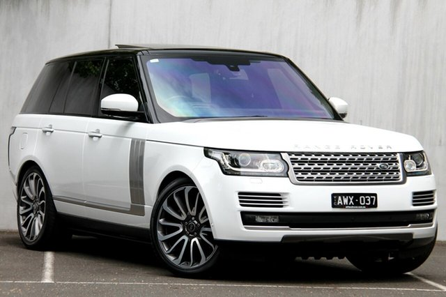 Used Land Rover Range Rover V8SC Autobiography, Malvern, 2016 Land Rover Range Rover V8SC Autobiography Wagon