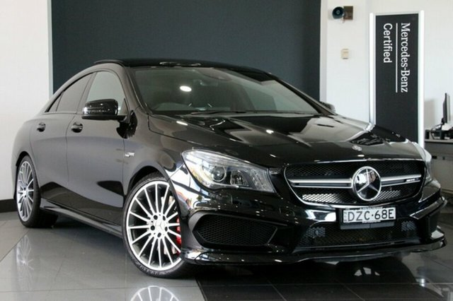 Used Mercedes-Benz CLA45 AMG SPEEDSHIFT DCT 4MATIC, Southport, 2014 Mercedes-Benz CLA45 AMG SPEEDSHIFT DCT 4MATIC Coupe