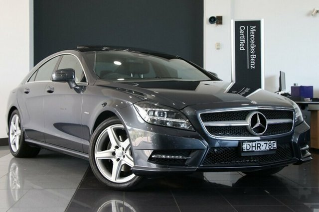 Used Mercedes-Benz CLS350 BlueEFFICIENCY Coupe 7G-Tronic, Southport, 2011 Mercedes-Benz CLS350 BlueEFFICIENCY Coupe 7G-Tronic Sedan