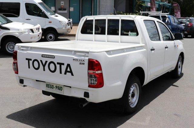 Used Toyota Hilux SR Double Cab 4x2, Acacia Ridge, 2013 Toyota Hilux SR Double Cab 4x2 GGN15R MY12 Utility