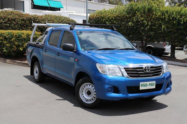 Used Toyota Hilux SR Double Cab 4x2, Acacia Ridge, 2014 Toyota Hilux SR Double Cab 4x2 GGN15R MY14 Utility