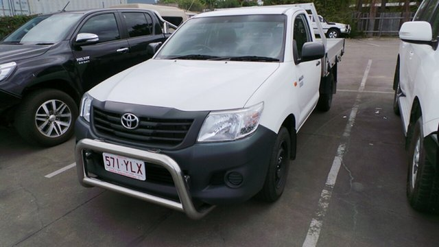 Used Toyota Hilux Workmate 4x2, Morayfield, 2014 Toyota Hilux Workmate 4x2 Cab Chassis