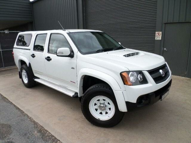 Used Holden Colorado LX (4x4), Wangaratta, 2008 Holden Colorado LX (4x4) Crew Cab Pickup