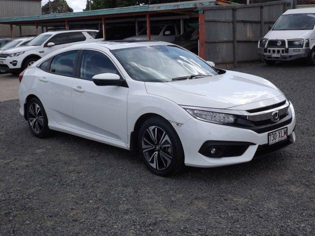 Used Honda Civic VTI-LX, Toowoomba, 2017 Honda Civic VTI-LX Sedan