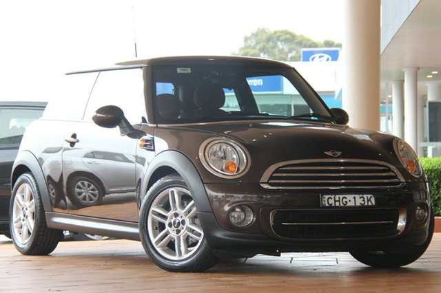 Used Mini Hatch Cooper Steptronic, Southport, 2012 Mini Hatch Cooper Steptronic Hatchback