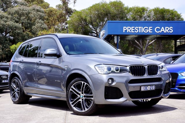 Used BMW X3 xDrive20d Steptronic, Balwyn, 2015 BMW X3 xDrive20d Steptronic Wagon