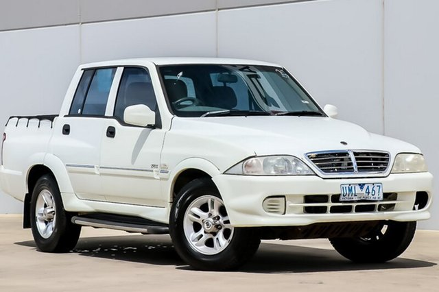 Used Ssangyong Musso Sports 4x2, Pakenham, 2004 Ssangyong Musso Sports 4x2 Utility