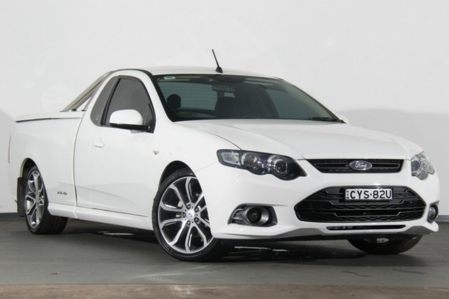 Used Ford Falcon XR6 Ute Super Cab Limited Edition, Southport, 2012 Ford Falcon XR6 Ute Super Cab Limited Edition Utility