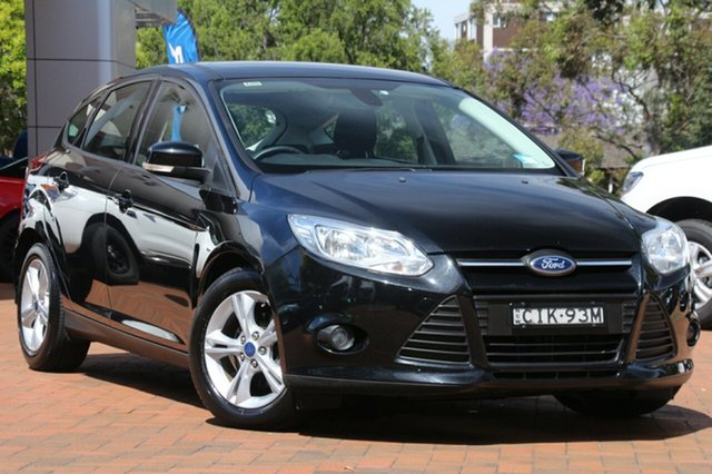 Used Ford Focus Trend PwrShift, Artarmon, 2012 Ford Focus Trend PwrShift Hatchback