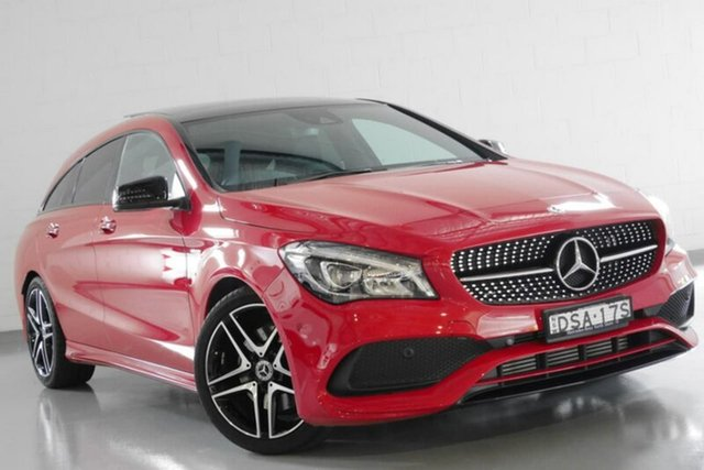 Used Mercedes-Benz CLA250 Sport Shooting Brake DCT 4MATIC, Warwick Farm, 2017 Mercedes-Benz CLA250 Sport Shooting Brake DCT 4MATIC Wagon
