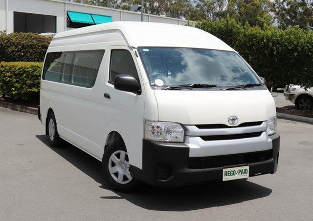 Discounted Used Toyota Hiace Commuter High Roof Super LWB, Acacia Ridge, 2015 Toyota Hiace Commuter High Roof Super LWB TRH223R Bus